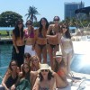 Bachelorette Party on yacht charter in Miami