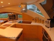 62 Power Cat Galley