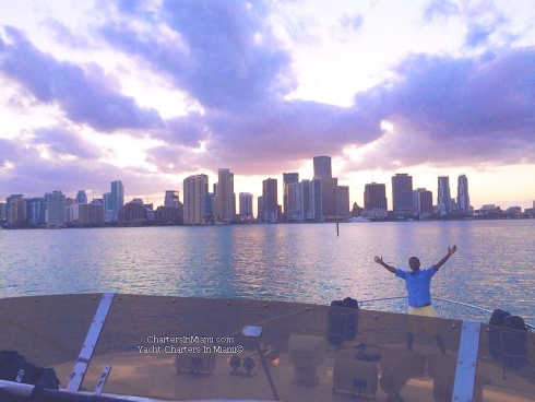 Sunset Cruise Yacht Charter in Miami