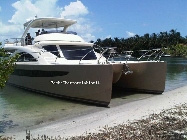 62 Power Catamaran Yacht For Charter In Miami