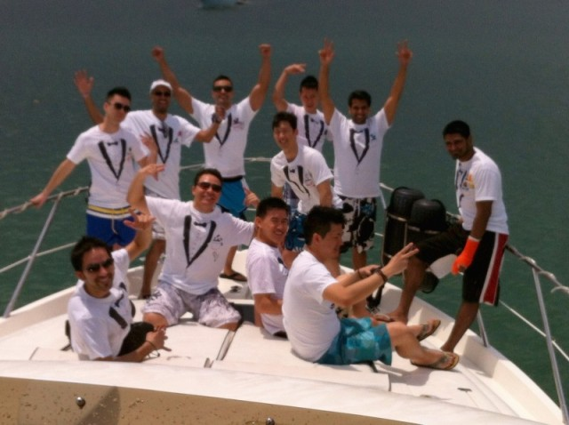 miami charter boat bachelor party